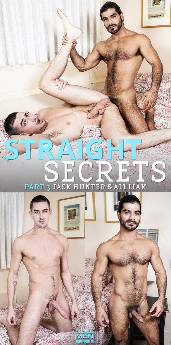 "Men.com: Ali Liam fucks Jack Hunter in ""Straight Secrets, Part 3"""