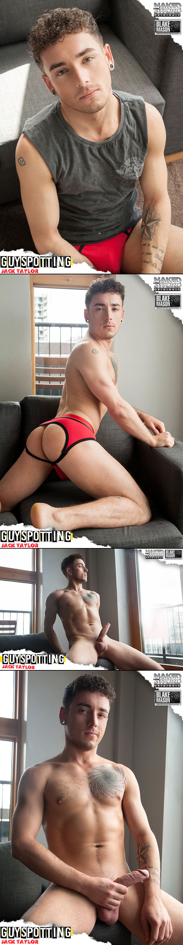 "NakedSword Originals: Jack Taylor and Leander flip fuck in ""Guyspotting - Episode 1: Hung & Hungover"""