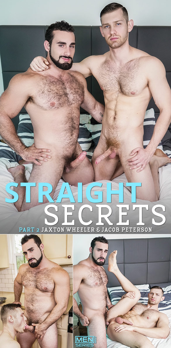 "Men.com: Jaxton Wheeler fucks Jacob Peterson in ""Straight Secrets, Part 2"""