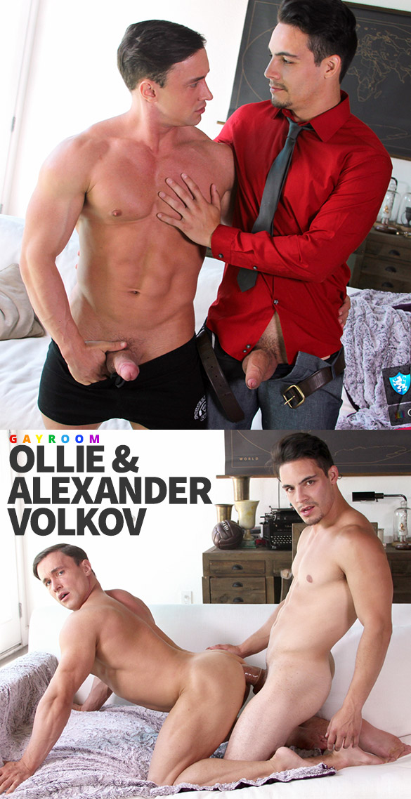 "GayRoom: Ollie fucks Alexander Volkov in ""Cater to You"""