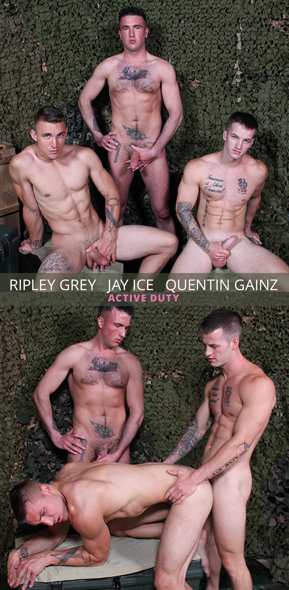 ActiveDuty: Jay Ice, Quentin Gainz and Ripley Grey