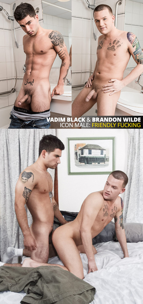 "IconMale: Vadim Black tops Brandon Wilde in ""Coming Out"""