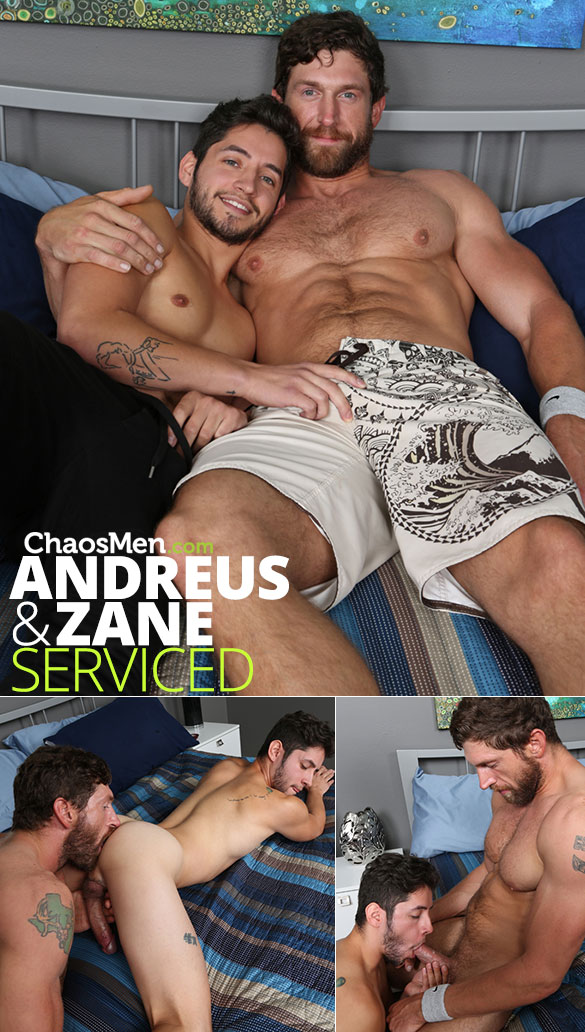 ChaosMen: Andreus and Zane service each other