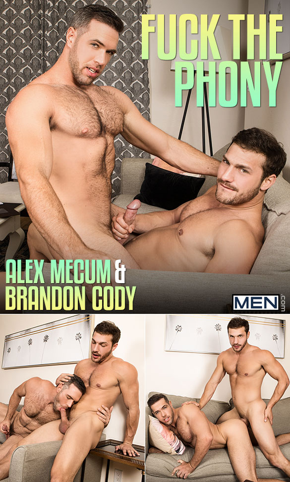 "Men.com: Brandon Cody tops Alex Mecum in ""Fuck the Phony"""