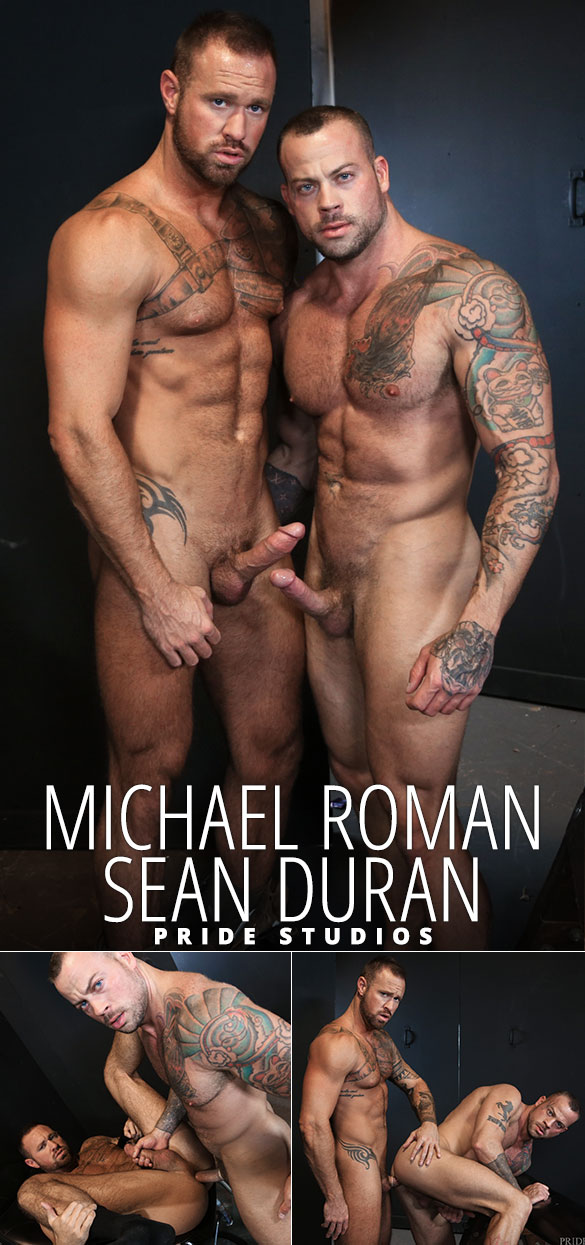 "Pride Studios: Sean Duran and Michael Roman flip fuck in ""Sean's Versatile Playroom"""