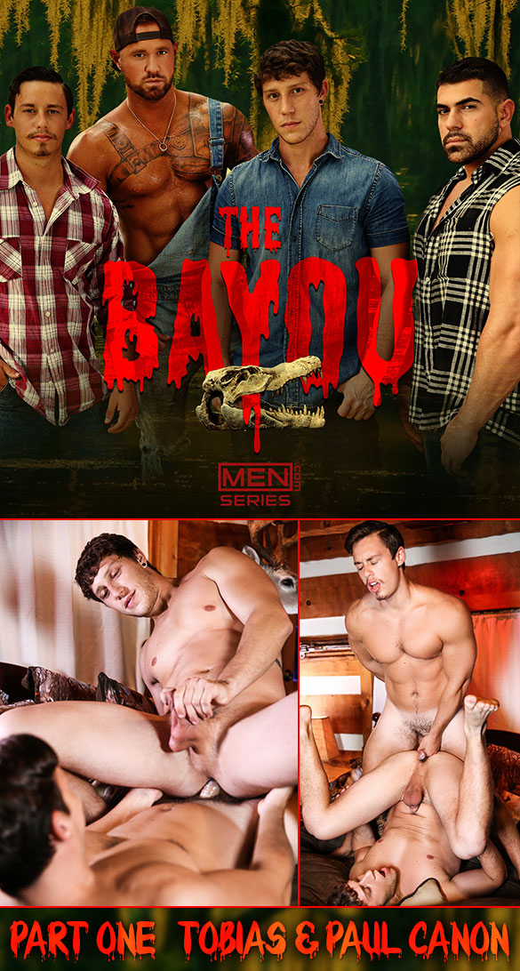 "Men.com: Tobias fucks Paul Canon in ""Bayou, Part 1"""