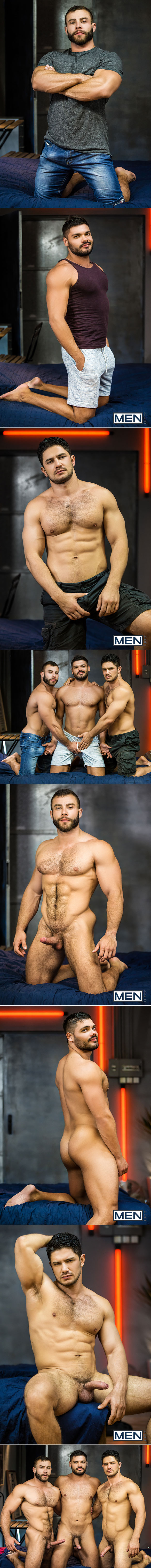 """Men.com: Dato Foland, Diego Reyes and Nicolas Brooks' threesome in """"The Boy Is Mine, Part 3"""""""