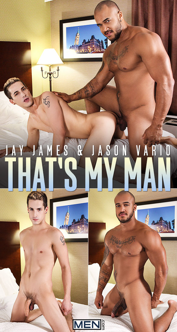 "Men.com: Jason Vario fucks Jay James in ""That's My Man"""