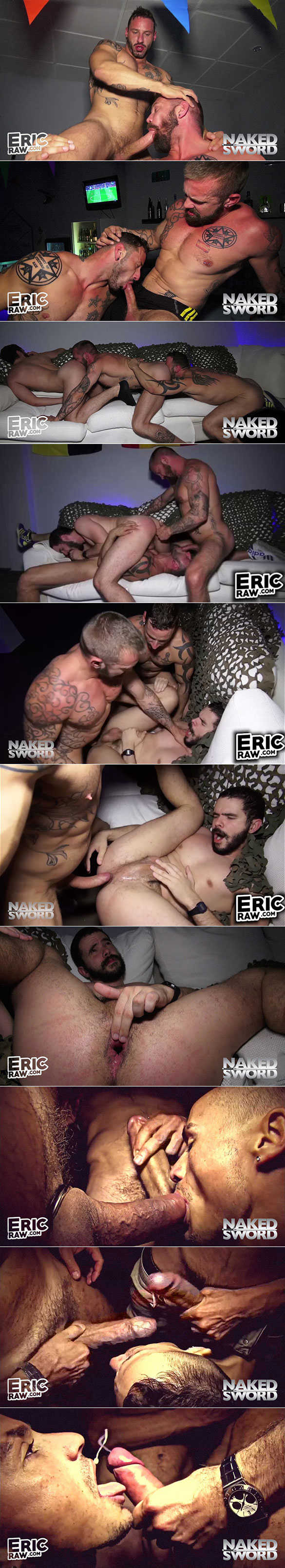 """NakedSword: EricVideos' """"Underbelly - Raw on the Streets"""""""