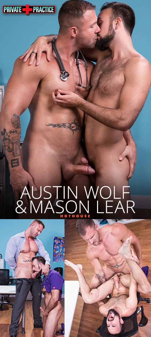 "HotHouse: Austin Wolf pounds Mason Lear in ""Private Practice"""