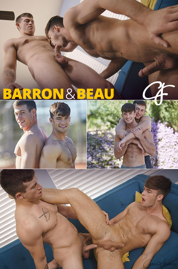 Corbin Fisher: Barron bangs Beau bareback