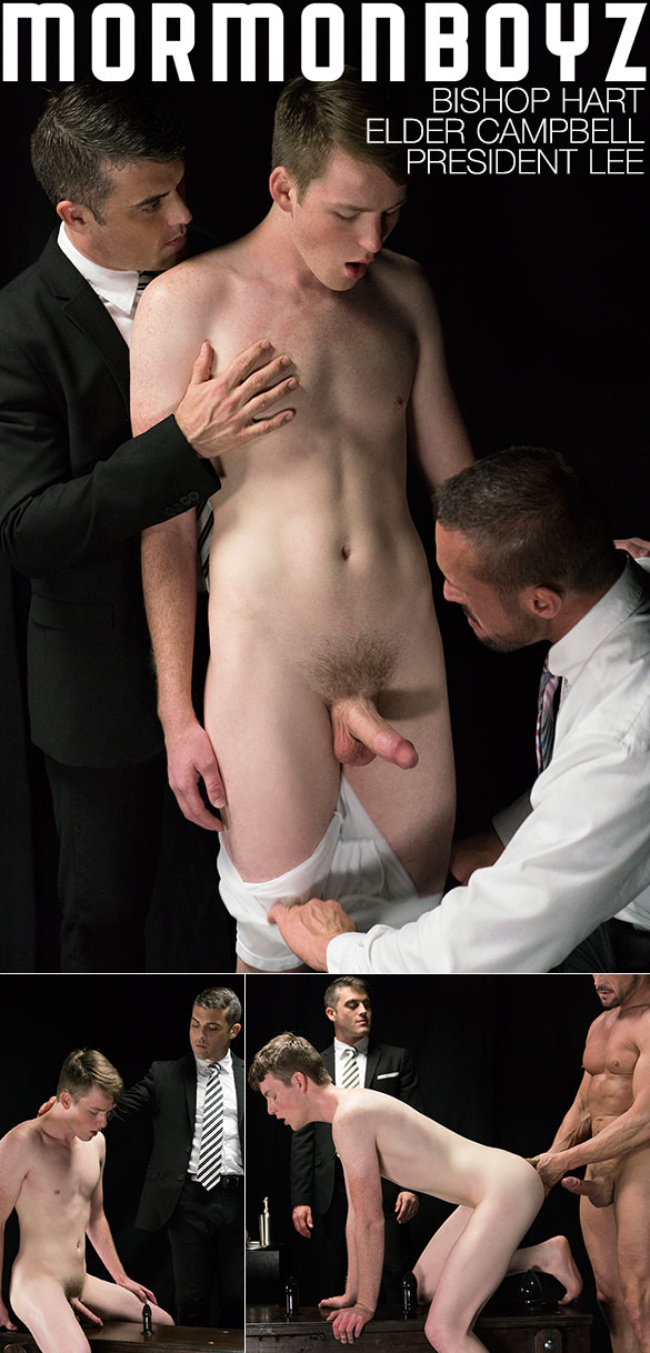 "MormonBoyz: Elder Campbell gets his hole stretched in ""Atonement"""