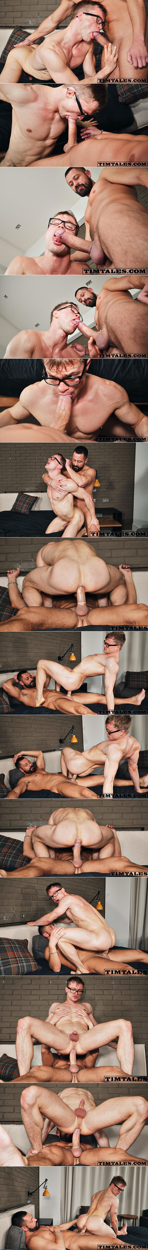 TimTales: Cristian Sam fucks Henrik Sommer's muscle ass hard and deep