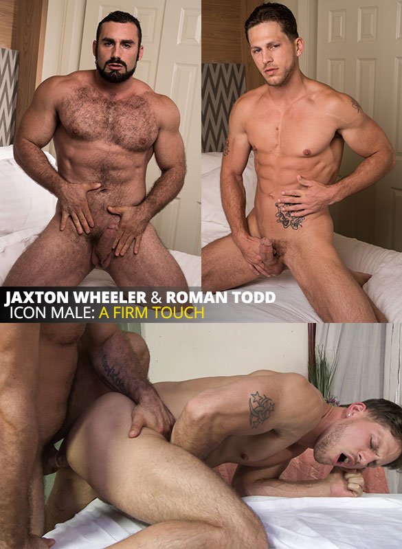 "IconMale: Jaxton Wheeler fucks Roman Todd in ""Gay Massage House"""