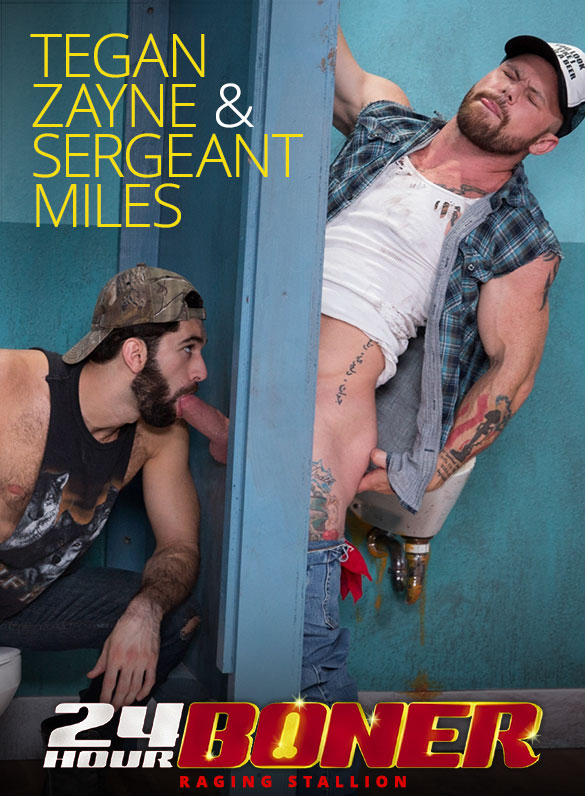 "Raging Stallion: Sergeant Miles gets serviced by Tegan Zayne in ""24 Hour Boner"""
