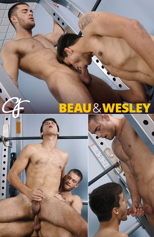 Corbin Fisher: Beau works out Wesley