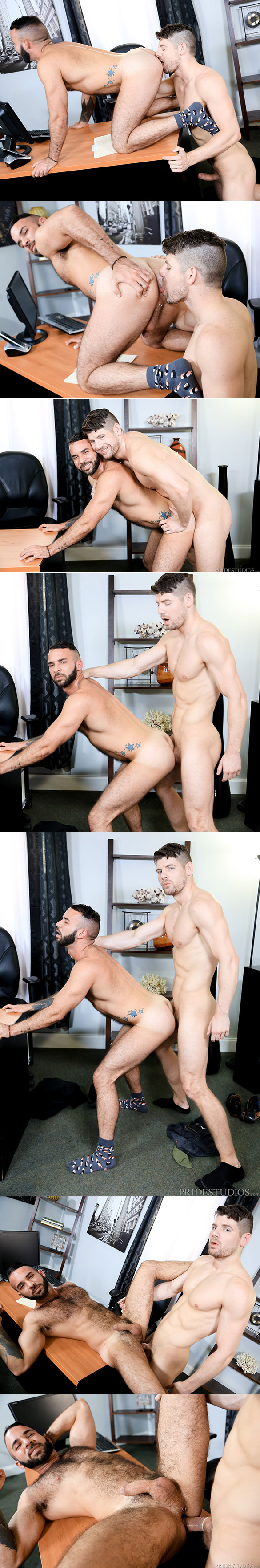 "Pride Studios: Connor Halsted bangs Fernando Del Rio in ""My Credit Sux"""