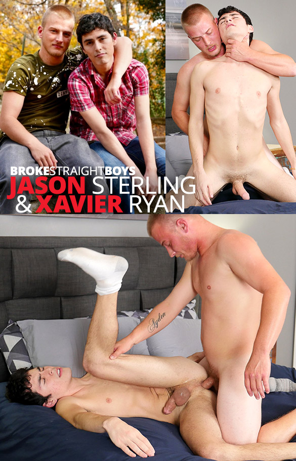 Broke Straight Boys: Jason Sterling breeds Xavier Ryan