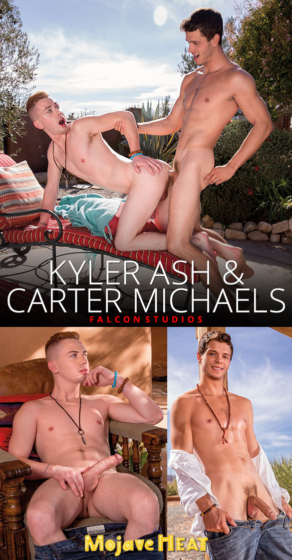 "Falcon Studios: Carter Michaels fucks Kyler Ash in ""Mojave Heat"""