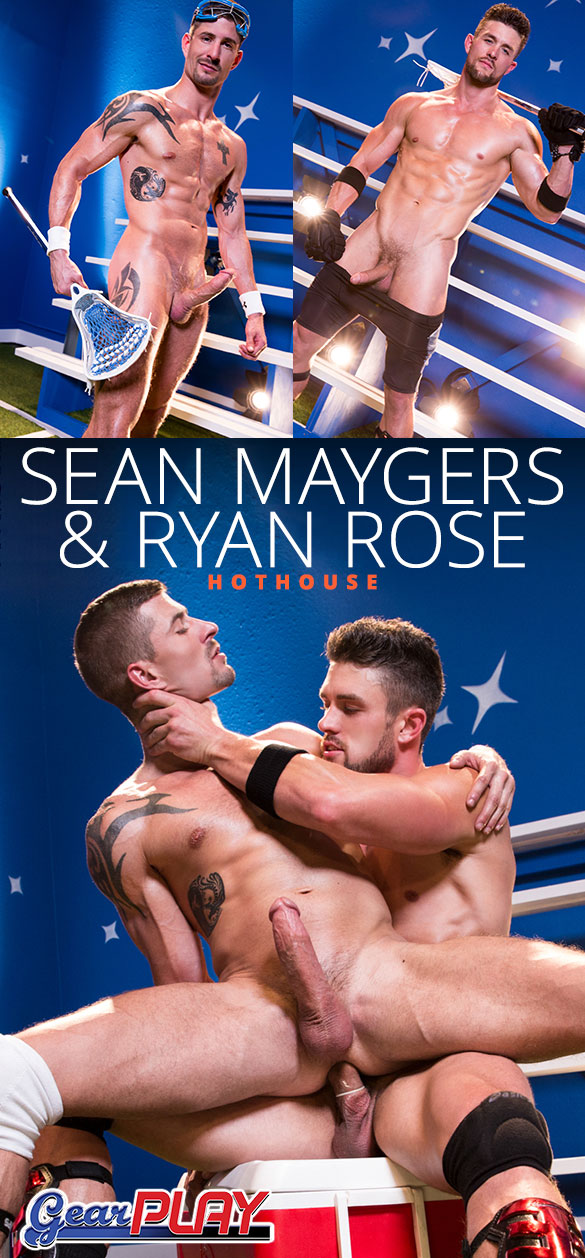 "HotHouse: Ryan Rose and Sean Maygers flip fuck in ""Gear Play"""