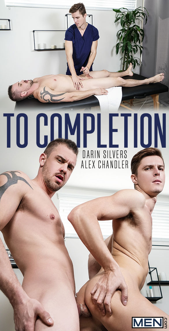 """Men.com: Darin Silvers fucks Alex Chandler in """"To Completion"""""""