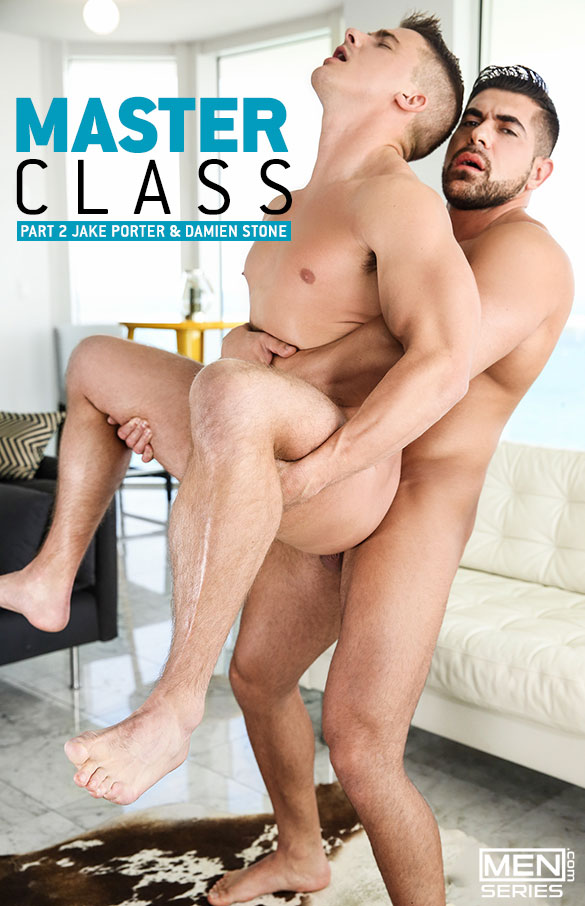 "Men.com: Damien Stone fucks Jake Porter in ""Masterclass, Part 2"""