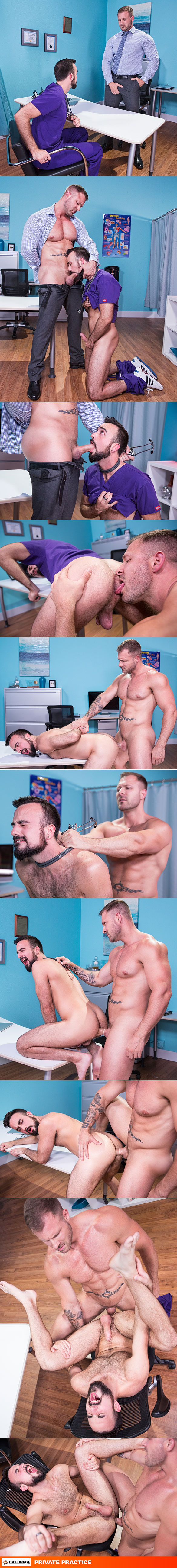 """NakedSword: Hot House Video """"Private Practice"""""""
