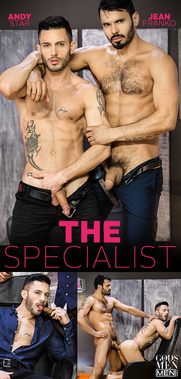 """Men.com: Jean Franko bangs Andy Star in """"The Specialist"""""""