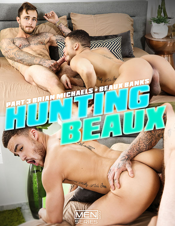 "Men.com: Brian Michaels fucks Beaux Banks in ""Hunting Beaux, Part 3"""