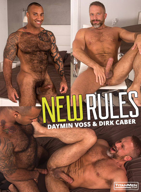 "TitanMen: Dirk Caber and Daymin Voss flip fuck in ""New Rules"""