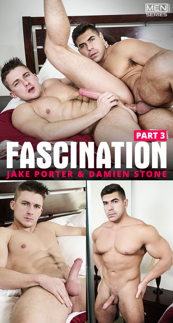 "Men.com: Damien Stone pounds Jake Porter in ""Fascination, Part 3"""