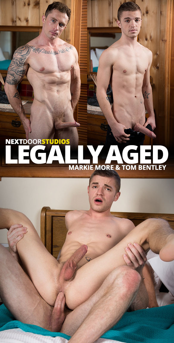 "Next Door Studios: Markie More creams Tom Bentley's twink hole in ""Legally Aged"""