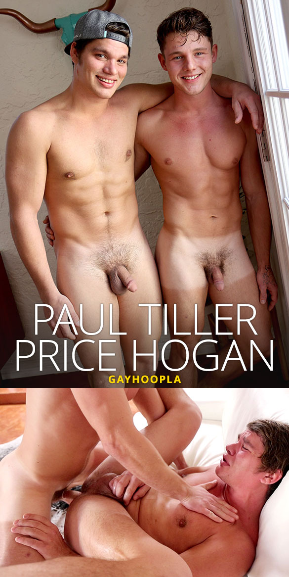 GayHoopla: Price Hogan pops Paul Tiller's ass cherry