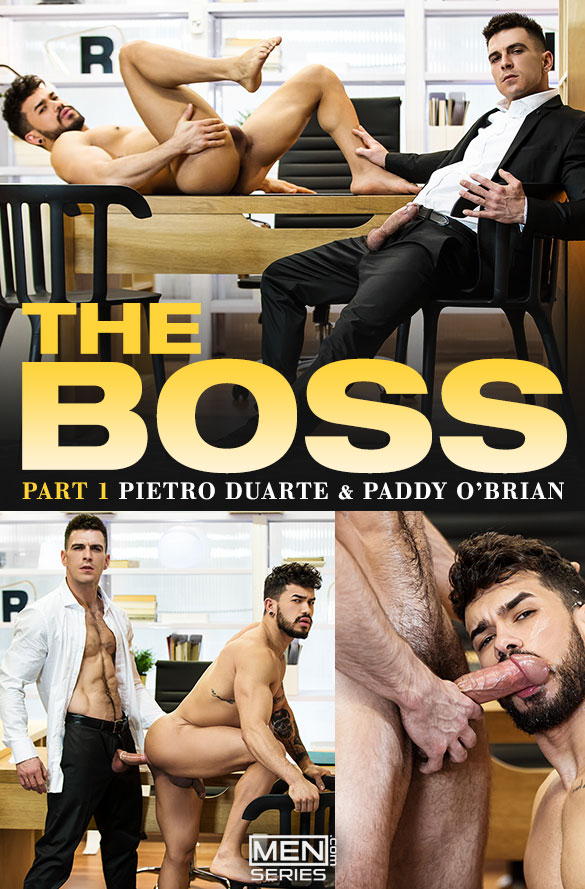 "Men.com: Paddy O'Brian fucks Pietro Duarte in ""The Boss, Part 1"""