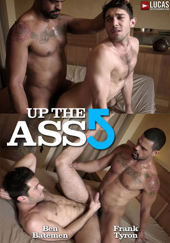 "Lucas Entertainment: Ben Batemen gets pounded bareback by Frank Tyron ""Up The Ass"""