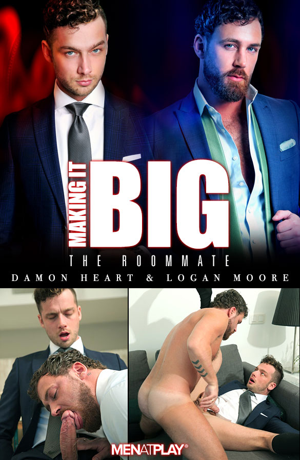 "MenAtPlay: Logan Moore fucks Damon Heart in ""Making It Big: The Roommate"""