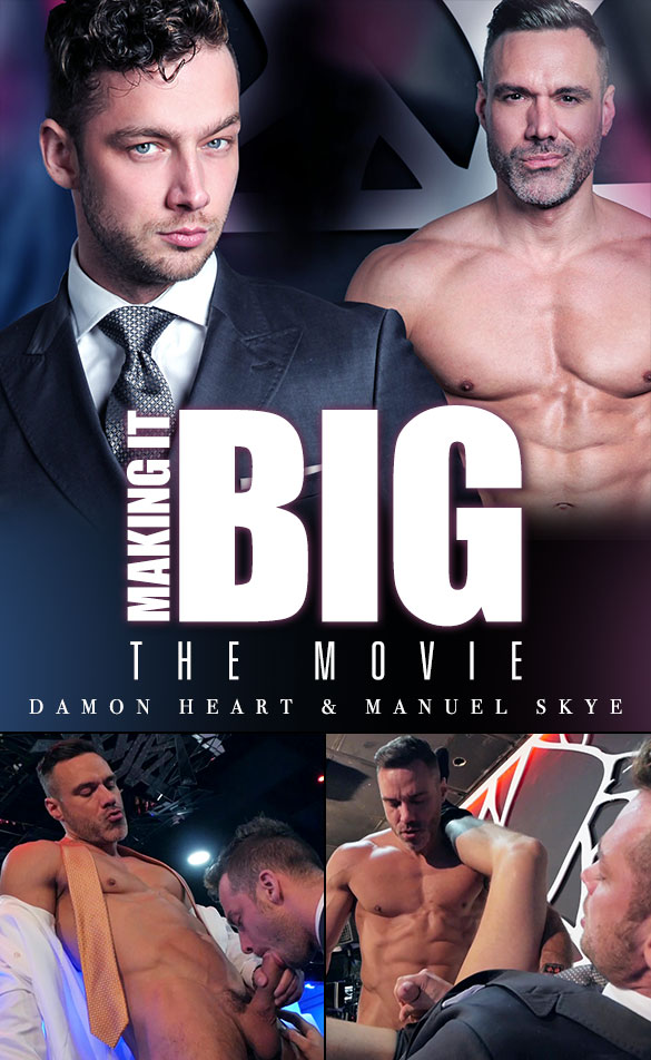 "MenAtPlay: Manuel Skye bangs Damon Heart in ""Making It Big: The Movie"""