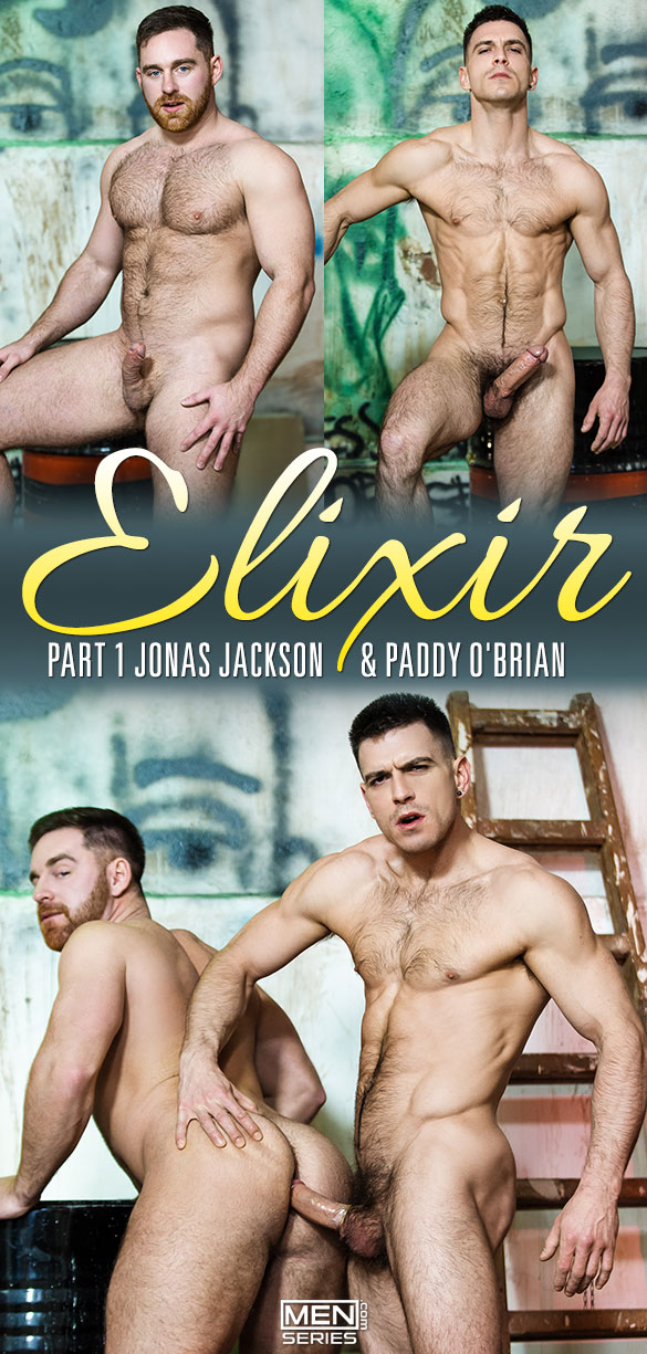 "Men.com: Paddy O'Brian fucks Jonas Jackson in ""Elixir, Part 1"""