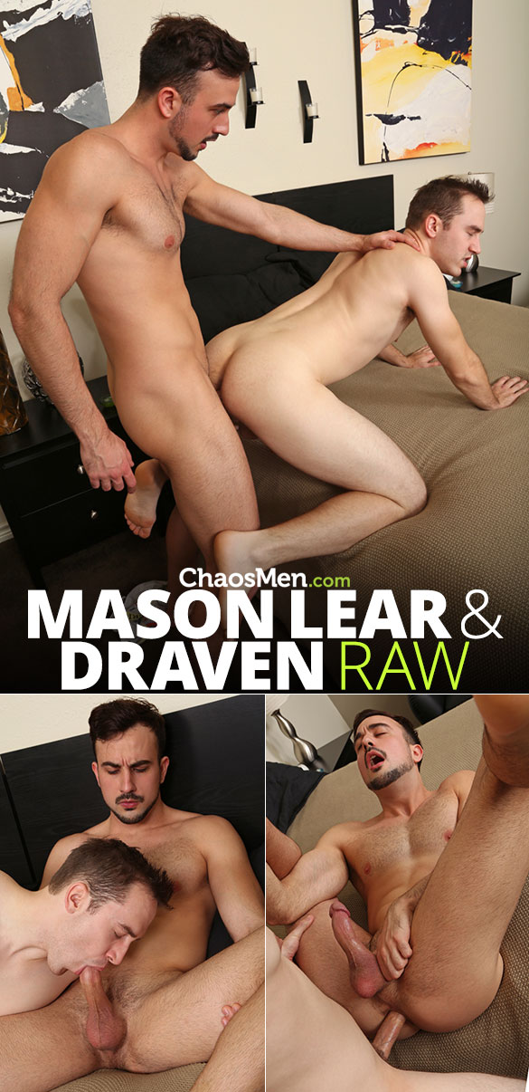 ChaosMen: Draven and Mason Lear creampie each other