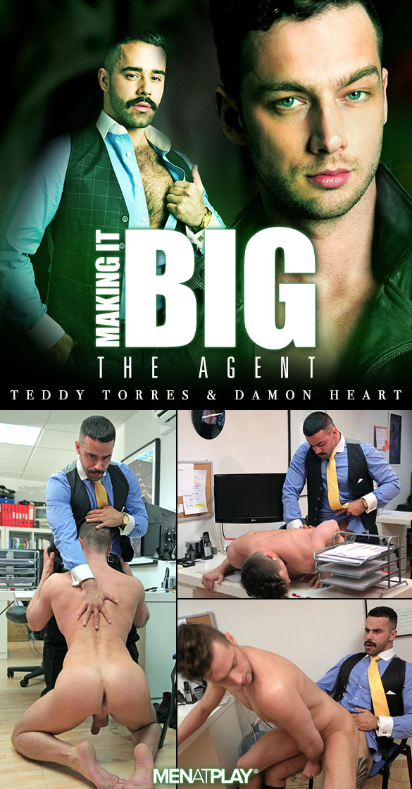 "MenAtPlay: Teddy Torres fucks Damon Heart in ""Making It Big: The Agent"""