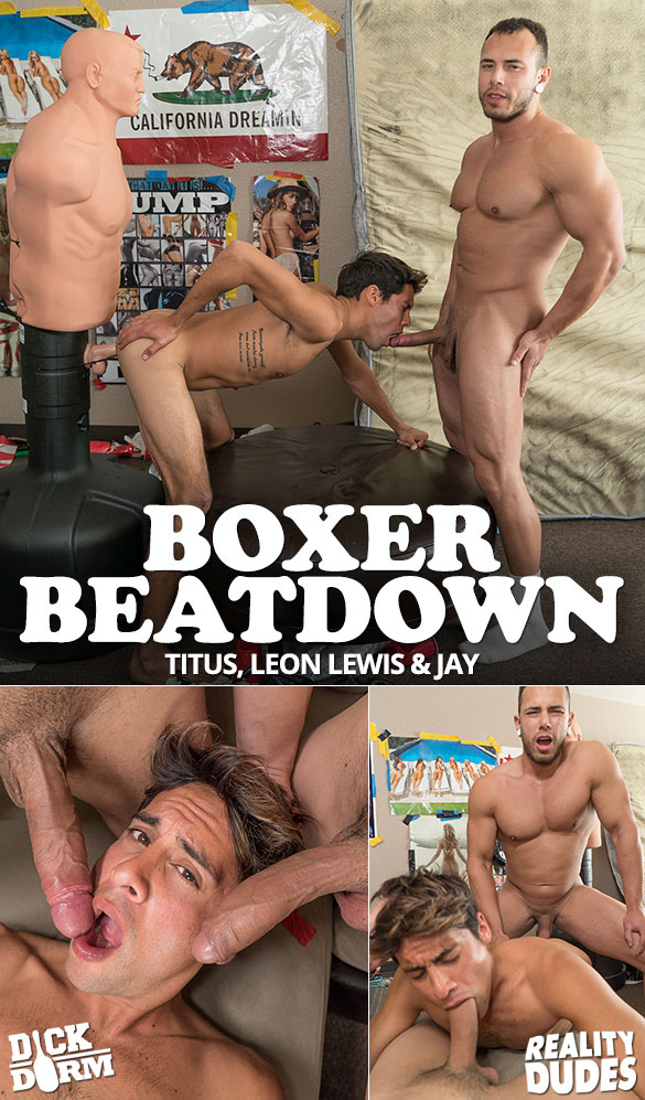"""Reality Dudes: Leon Lewis and Jay tag team Titus raw in """"Boxer Beatdown"""""""