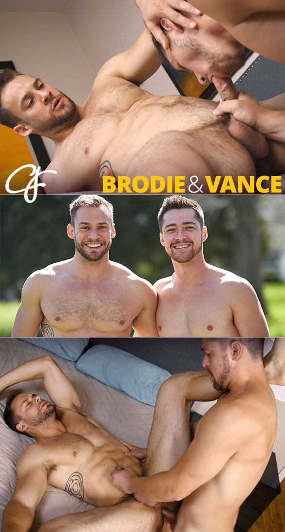 "Corbin Fisher: Vance barebacks Brodie (""Best Buds 2018"")"