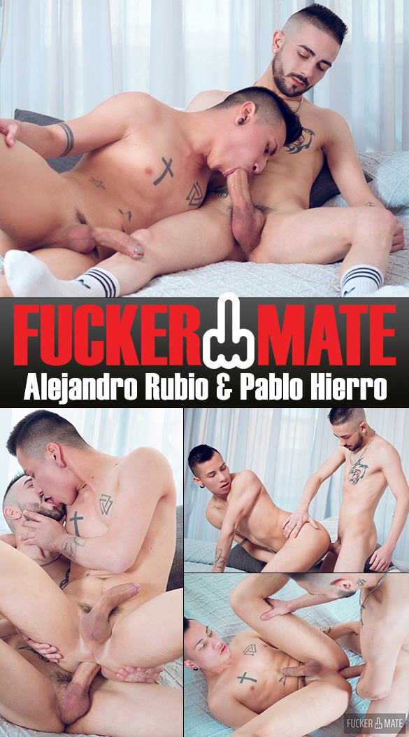 "Fuckermate: Pablo Hierro bangs Alejandro Rubio in ""Young Bare Fun"""