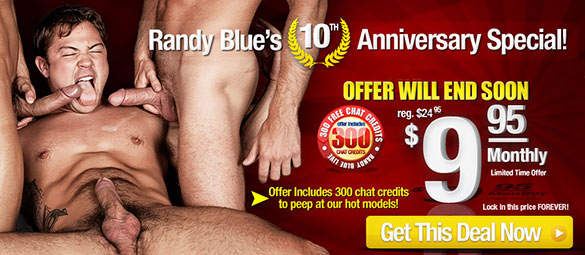 Randy Blue for $9.95 Sale