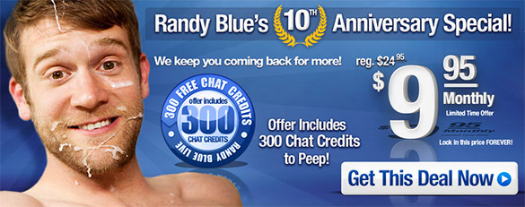60% off at RandyBlue.com