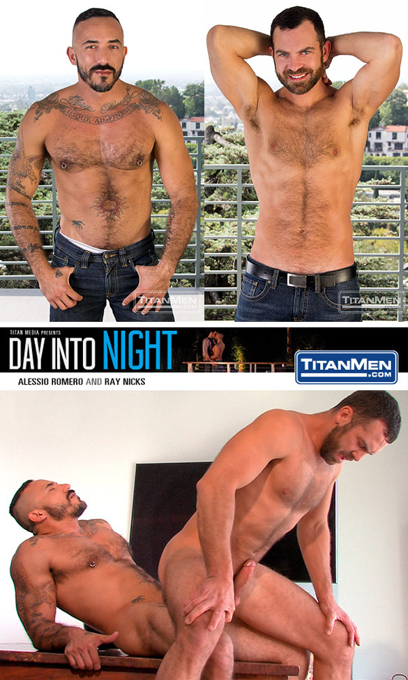 "TitanMen: Alessio Romero fucks Ray Nicks in ""Day Into Night"""