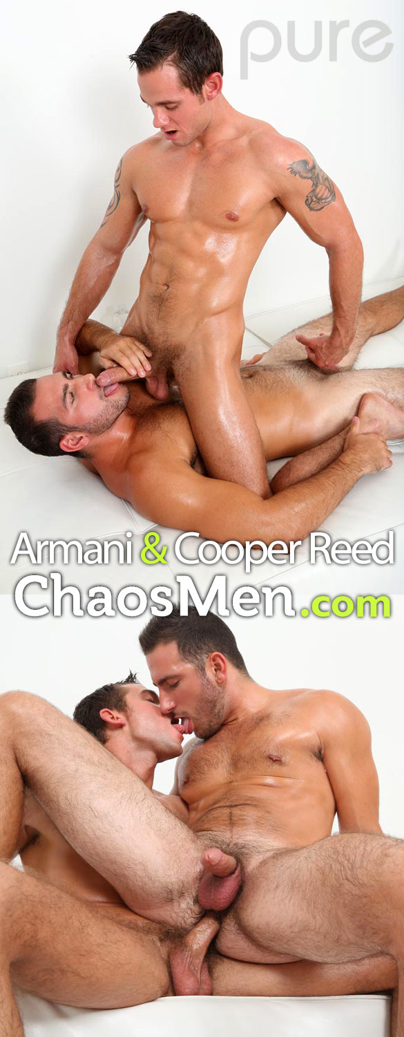 ChaosMen: Armani gets fucked raw by Cooper Reed