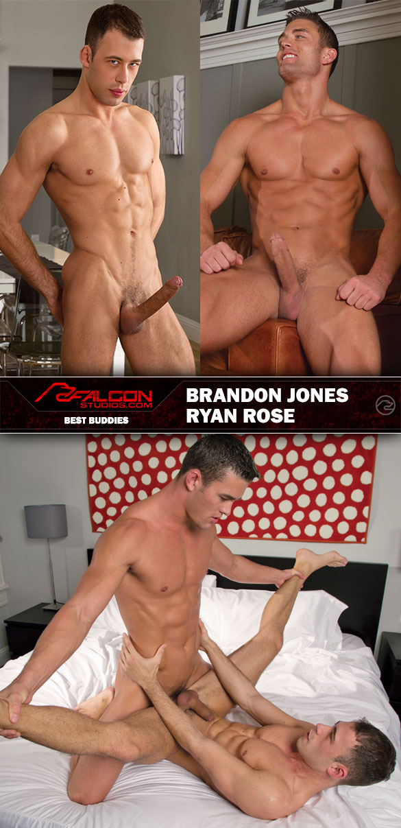 "Falcon Studios: Ryan Rose pounds Brandon Jones in ""Best Buddies"""