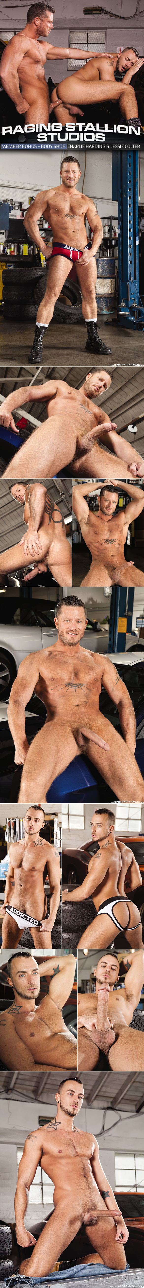 "Raging Stallion: Charlie Harding pounds Jessie Colter in ""Body Shop"""