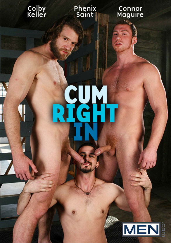 "Men.com: Phenix Saint bottoms for Colby Keller and Connor Maguire in ""Cum Right In"""
